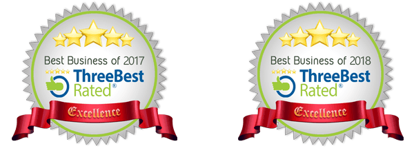 ThreeBest Rated 2017 and 2018
