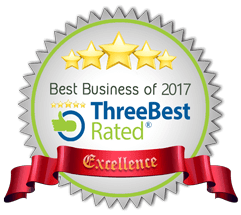 Best Business of 2017 (ThreeBestRated)