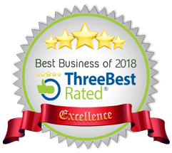 Best Business of 2018 (ThreeBestRated)
