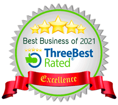 Best Business of 2021 (ThreeBestRated)